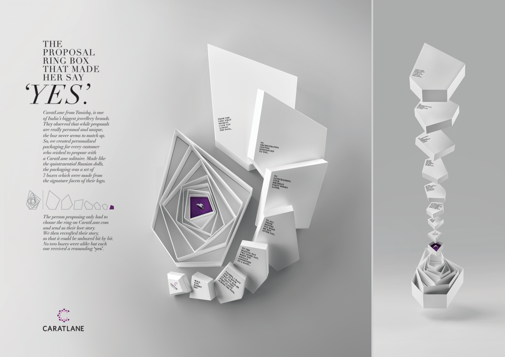 The Proposal Ring Box Kyoorius Creative Awards